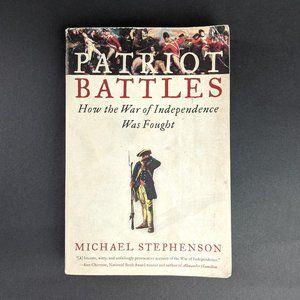 History Book- Patriot Battles